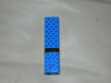 Blue Lipstick Shaped Butane Lighter USA Stocked