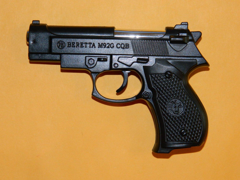 Black Beretta M92G Pistol Gun Revolver Shaped Jet Torch Lighter USA Stocked