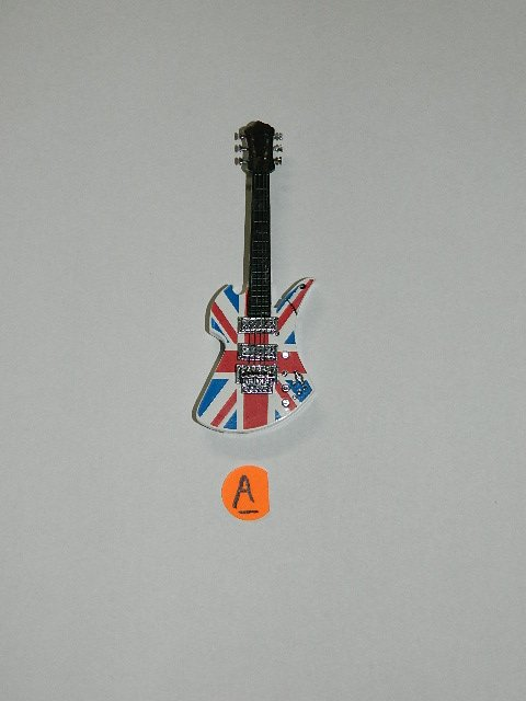 British Electric Guitar Shaped Butane Lighter