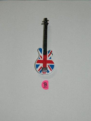 British Bass Guitar Shaped Butane Lighter