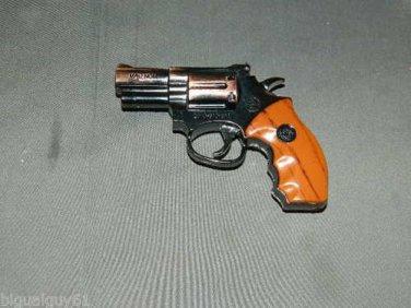 Sightless .357 Magnum Gun Pistol Shaped Jet Torch Lighter With White LED Light USA Stocked