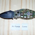 MTech Air Force Camouflage Knife Butane Lighter USA Stocked and Shipped