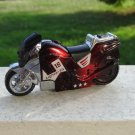 Red Racing Motorcycle Jet Torch Lighter With LED Headlight
