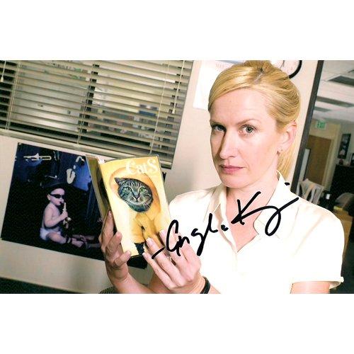 THE OFFICE'S ANGELA KINSEY SIGNED 4X6 PHOTO + COA
