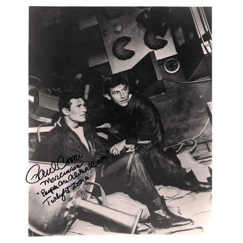 PAUL COMI SIGNED 8x10 PHOTO + COA