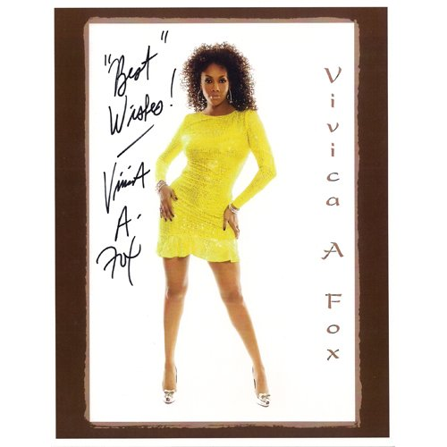 VIVICA A. FOX SIGNED 8x10 PHOTO + COA