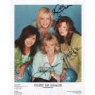 POINT OF GRACE GROUP (4) SIGNED 8x10 PHOTO + COA