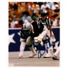 GENE UPSHAW SIGNED 8x10 PHOTO + COA