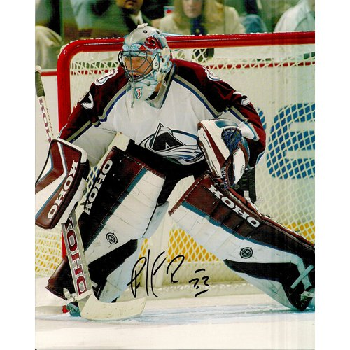 COLORADO AVALANCHE PATRICK ROY SIGNED 8x10 PHOTO + COA