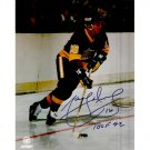 LOS ANGELES KINGS MARCEL DIONNE SIGNED 8x10 PHOTO + COA