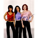 CHARMED CAST SIGNED 8x10 PHOTO + COA