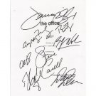 THE OFFICE SIGNED SCRIPT (9) SIGNATURES + COA