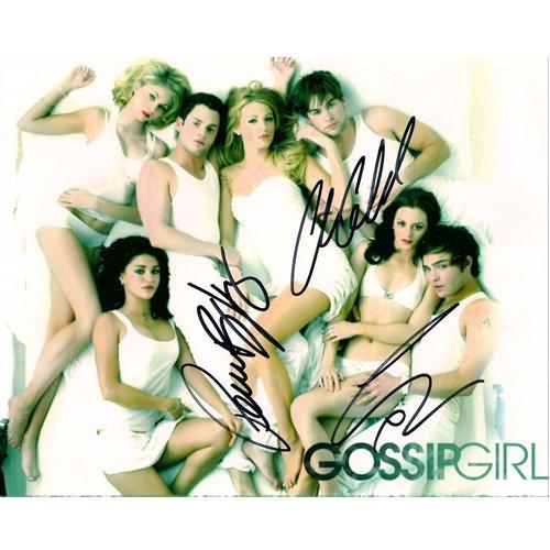 GOSSIP GIRLS SIGNED 8X10 PHOTO (3) SIGNATURES + COA
