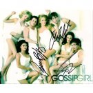 GOSSIP GIRLS SIGNED 8X10 PHOTO (3) SIGNATURES + COA
