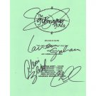 GILMORE GIRLS SIGNED SCRIPT (4) SIGNATURES + COA
