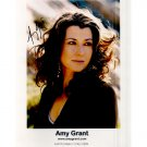 AMY GRANT SIGNED 8x10 PHOTO + COA