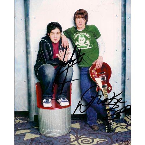 DRAKE BELL & JOSH PECK SIGNED 8x10 PHOTO + COA