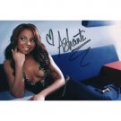 RNB Artist ASHANTI SIGNED 4X6 PHOTO + COA