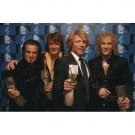 BON JOVI SIGNED 4x6 PHOTO + COA