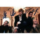ROCK GROUP DEFAULT SIGNED 4X6 PHOTO + COA