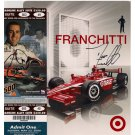 DARIO FRANCHITTI SIGNED 8x10 & TICKET