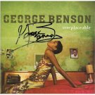 GEORGE BENSON SIGNED CD