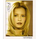 CALI LILI HAUSER SIGNED 8x10 PHOTO