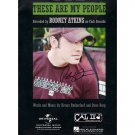 RODNEY ATKINS SIGNED MUSIC BOOK