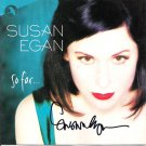 SUSAN EGAN SIGNED CD