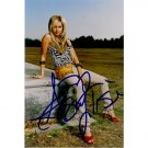 ASHLEY TISDALE SIGNED 4x6 PHOTO + COA