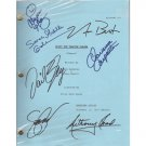 BUFFY THE VAMPIRE SLAYER SCRIPT (7) SIGNATURES