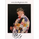 CHUBBY BROWN SIGNED 8x10 PHOTO