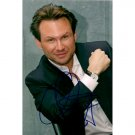 CHRISTIAN SLATER SIGNED 4x6 PHOTO + COA