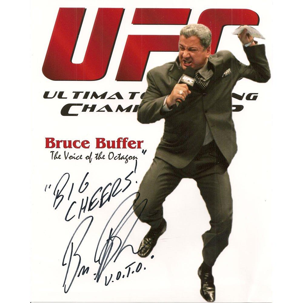 BRUCE BUFFER SIGNED 4X6 PHOTO + COA