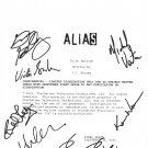 """ALIAS """"Pilot"""" SIGNED (7) signatures SCRIPT + COA"""