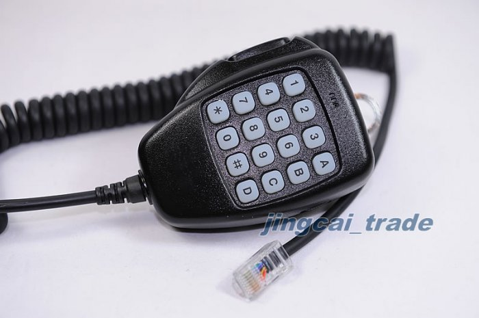 DTMF Mic for ICOM IC-2720H IC-2200H IC-208H HM-118TN
