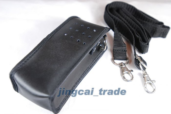 Leather Case For Motorola GP320 GP338 GP328 GP340 New!
