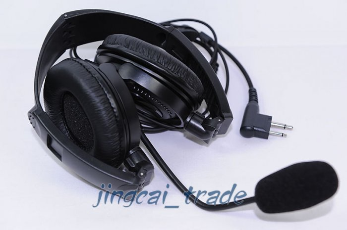 Overhead Headset with boom mic for Motorola GP300 CP200
