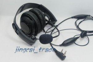 Overhead Headset with boom mic of KENWOOD PUXING WOUXUN