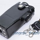 Hard Leather Case For Motorola 2-Way Radio GP328 GP340