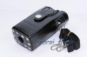 Hard Leather Case For Kenwood 2-Way Radio TK3207 TK3107