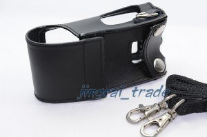 Original! Leather Case For WOUXUN KG-UVD1P Radio New!