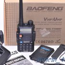 Original BaoFeng UV-5R Dual-Band Dual-Display 2-way VHF/UHF FM Radio + Earpiece