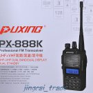 New Arrival! Puxing PX-888K Dual-Band UHF & VHF Dual-Display Dual-Standby Radio
