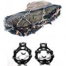 Brand New! Portable 8-Teeth Camping Climb Ice Crampon Ice Walking Cleat