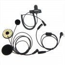 Motorcycle Helmet Headset Earpiece For Ham Radio for MOTOROLA HYT 2-PIN Radio
