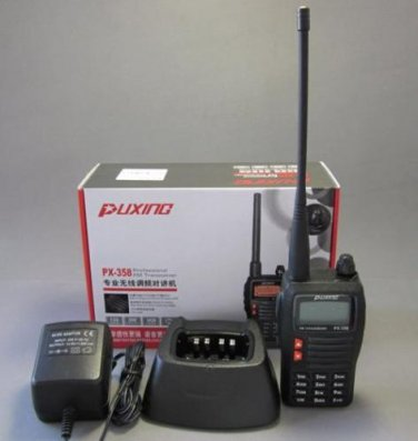 Puxing PX-358 PX358 VHF 136-174MHz Radio +Free Earpiece