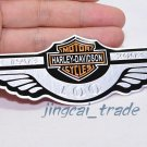 Harley Davidson 100 Anniversary Motorcycle Aluminium Emblem Badge Sticker Decal