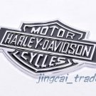 3D Harley Davidson Motor Cycle Emblem Badge Sticker Decal Chromed Metal Big Size