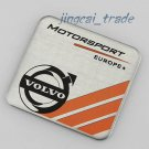 Volvo Motor Sport Europe Aluminium Decal Badge Emblem XC90 XC60 V60 Car Van SUV